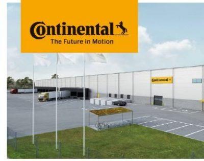 Inbjudan 12/9 på rundtur på Continentals Logistikanläggning